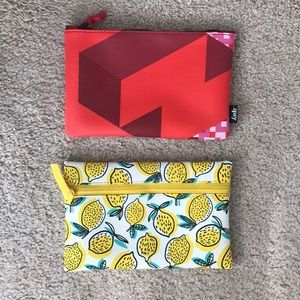 Ipsy make up bags 2/$10. Brand new.